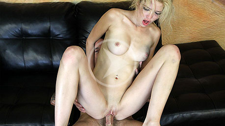 Tiffany Fox Rides a Massive Cock Deep In Her Pussy